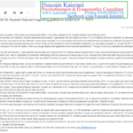 My Experience with Homeopathic Dr Hussain Kaisrani regarding Treatment of Fatty Liver and GALLSTONES REMOVAL without Surgery – A review